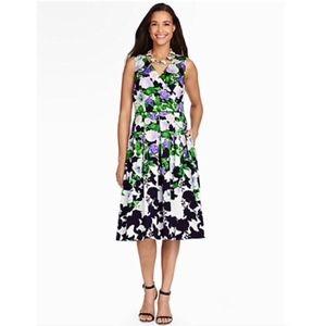 Talbots Oprah Magazine Short Casual Dress Midi 14W